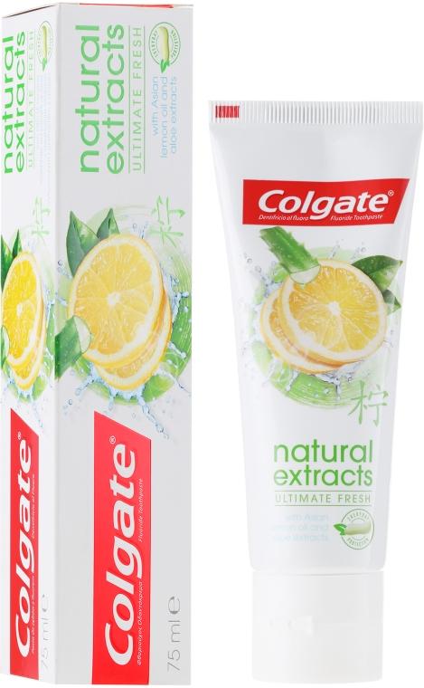 """Dentifricio """"Freschezza perfetta"""" - Colgate Natural Extracts Ultimate Fresh Lemon"""