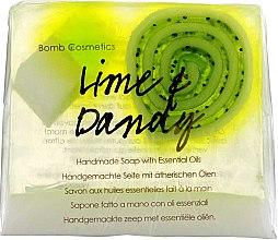 Profumi e cosmetici Sapone - Bomb Cosmetics Lime & Dandy Soap Block