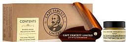 Profumi e cosmetici Set - Captain Fawcett Sandalwood (moust/wax/15ml + moustache comb)
