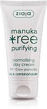 Profumi e cosmetici Crema correttiva idratante da giorno - Ziaja Manuka Tree Purifying Normalising Day Cream SPF10