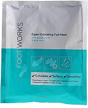 Profumi e cosmetici Maschera piedi esfoliante con acido glicolico e aloe vera - Avon Foot Works