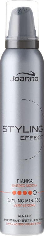 """Mousse modellante """"Fissazione forte"""" - Joanna Styling Effect Styling Mousse Strong"""