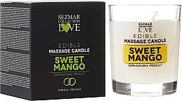 """Profumi e cosmetici Candela naturale da massaggio """"Mango"""" - Sezmar Collection"""