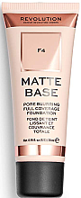 Profumi e cosmetici Fondotinta - Makeup Revolution Matte Base Foundation
