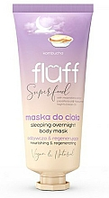 Profumi e cosmetici Maschera corpo - Fluff Superfood Kombucha Sleeping Overnight Body Mask
