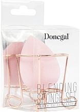 Profumi e cosmetici Spugna trucco in cestino, rosa - Donegal
