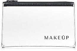 """Profumi e cosmetici Beauty case trasparente """"Flat Glow"""" 23x13 cm - MakeUp"""