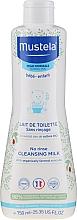 Profumi e cosmetici Latte detergente per pelli normali - Mustela No Rinse Cleansing Milk