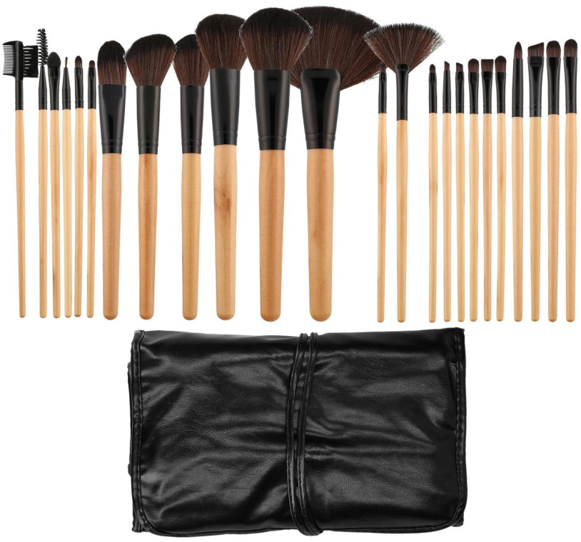 Set di pennelli professionali per trucco, 24 pz - Tools For Beauty