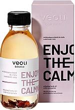 Profumi e cosmetici Olio corpo rilassante con petali di rosa - Veoli Botanica Relaxing Body Oil With Rose Petals Enjoy The Calmness