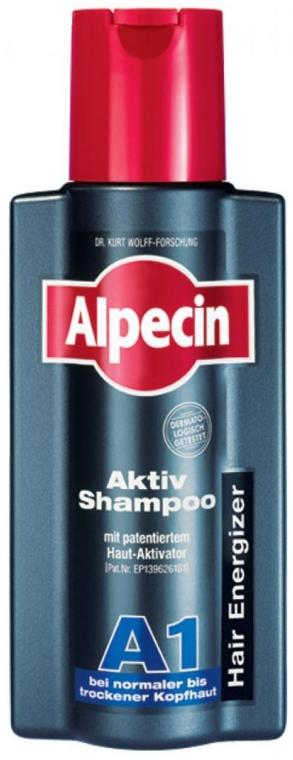 Shampoo per attivare la crescita dei capelli per cuoio capelluto normale e secco - Alpecin A1 Active Shampoo — foto N1