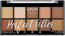 Profumi e cosmetici Palette ombretti - NYX Professional Makeup Perfect Filter Shadow Palette
