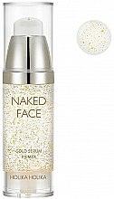 Profumi e cosmetici Primer-siero - Holika Holika Naked Face Gold Serum Primer