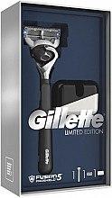 Profumi e cosmetici Set - Gillette Fusion5 ProShield Chill (rasoio / 1psc + supporto)