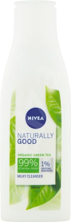 Latte detergente - Nivea Naturally Good Green Tea Milky Cleanser