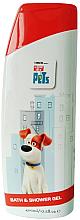 Profumi e cosmetici Gel doccia per bambini - Corsair The Secret Life Of Pets Bath&Shower Gel