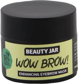 Maschera per la crescita delle sopracciglia - Beauty Jar Wow Brow! Enhancing Eyebrow Mask