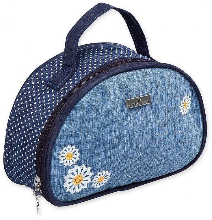 """Beauty case """"Camomiles"""", 98192, con fiori - Top Choice"""