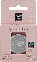 """Profumi e cosmetici Balsamo labbra """"Albicocca"""" - Fair Squared Lip Balm Apricot"""