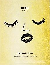 Profumi e cosmetici Maschera viso schiarente - Pibu Beauty Brightening Mask