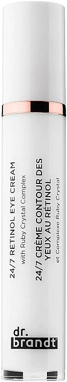 Crema contorno occhi antietà al retinolo - Dr. Brandt 24/7 Retinol Eye Cream