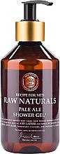 Profumi e cosmetici Gel doccia - Recipe For Men RAW Naturals Pale Ale Shower Gel
