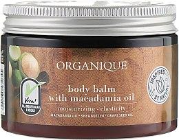 Profumi e cosmetici Balsamo corpo con olio di macadamia - Organique Shea Butter Body Balm With Macadamia Oil