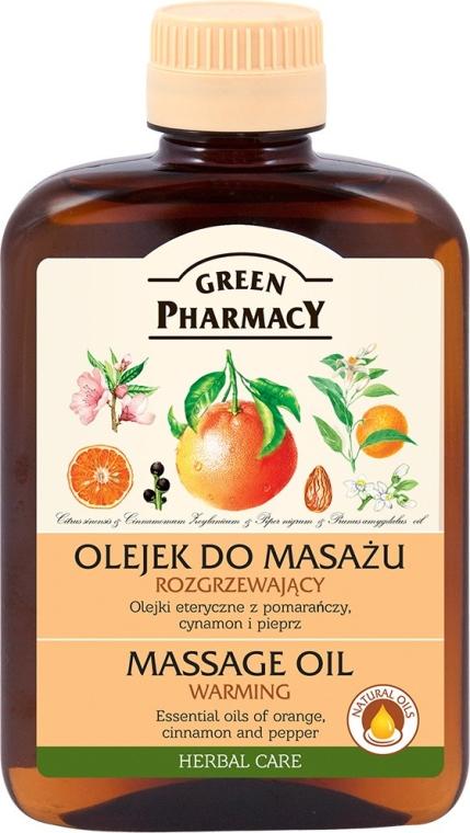 Olio massaggio riscaldante - Green Pharmacy Warming Massage Oil