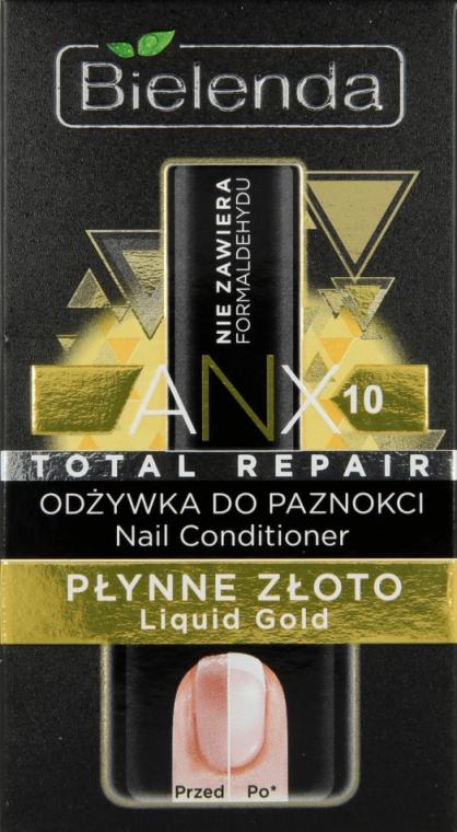 """Condizionante unghie """"Oro liquido"""" - Bielenda Liquid Gold Nail Conditioner"""