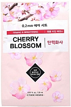 """Profumi e cosmetici Maschera viso in tessuto """"Fiori di ciliegio"""" - Etude House Therapy Air Mask Cherry Blossom"""