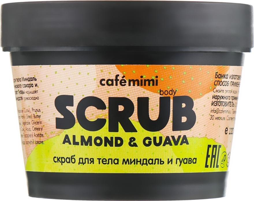 """Scrub corpo """"Mandorle e Guava"""" - Cafe Mimi Body Scrub Almond & Guava"""
