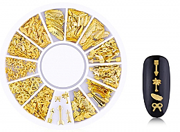 "Profumi e cosmetici Decorazioni per unghie ""Gold-6"" - Deni Carte"