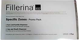 Profumi e cosmetici Set - Fillerina Grade 3+ (lips/gel/7ml + eye/gel/15ml)