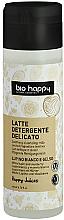 """Profumi e cosmetici Latte detergente viso """"Lupino bianco e gelso"""" - Bio Happy Face Milk Cleanser"""