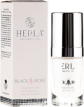 Profumi e cosmetici Crema contorno occhi - Herla Black Rose Concentrated Anti-Wrinkle Eye Lift Cream