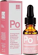 Profumi e cosmetici Siero contorno occhi - Dr Botanicals Apothecary Pomegranate Superfood Brightening Eye Serum