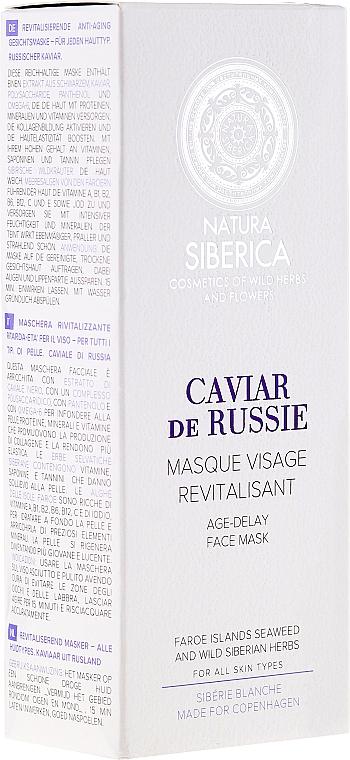 Maschera viso ringiovanente - Natura Siberica Copenhagen Caviar de Russie Age Delay Face Mask