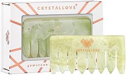 Profumi e cosmetici Pettine per massaggio del cuoio capelluto - Crystallove