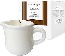 """Profumi e cosmetici Candela per massaggio SPA """"Ceramica bianca"""" Guaranà - Organique Spa Massage Candle Guarana"""