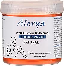 Profumi e cosmetici Pasta di zucchero depilatoria - Alexya Sugar Paste For Depilation Natural