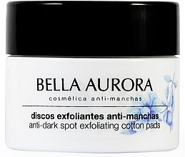 Profumi e cosmetici Dischetti detergente viso anti-pigmento - Bella Aurora Anti-Dark-Spot Exfoliation Pads