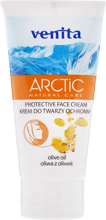 Crema protettiva viso con olio d'oliva - Venita Arctic Protective Face Cream Olive Oil