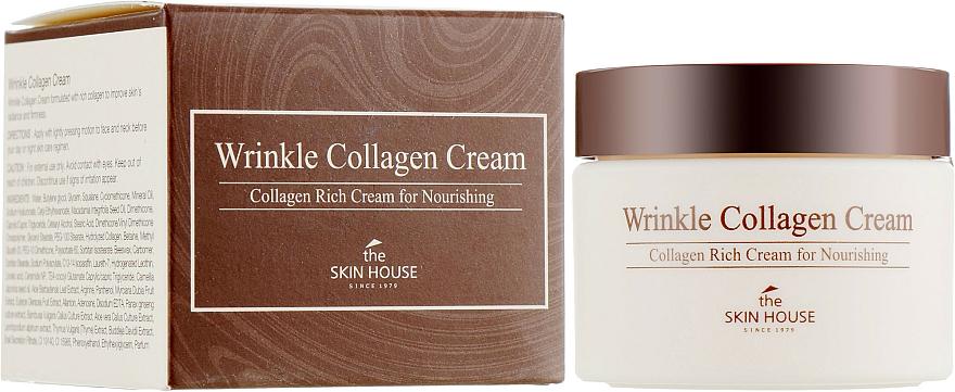 Crema nutriente antirughe al collagene - The Skin House Wrinkle Collagen Cream