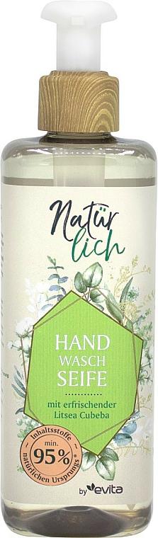 Sapone liquido mani all'olio essenziale - Evita Naturlich Eco Liquid Soap Litsea Cubea