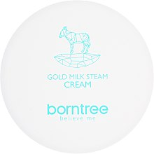 Crema viso nutriente - Borntree Gold Milk Steam Cream — foto N2