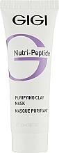 Profumi e cosmetici Maschera purificante all'argilla - Gigi Nutri-Peptide Purifying Clay Mask