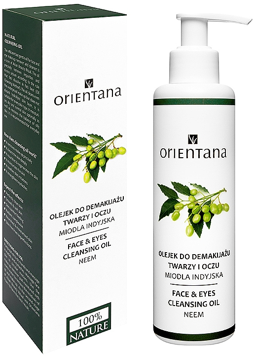 Olio struccante - Orientana Nourishing Cleansing Oil For Face & Eyes Neem — foto N1
