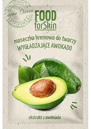 Maschera per il viso - Marion Food for Skin Cream Mask Smoothing Avocado