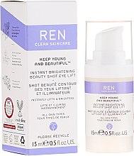 Profumi e cosmetici Crema-gel lifting per il contorno occhi con effetto di luminosità - Ren Keep Young And Beautiful