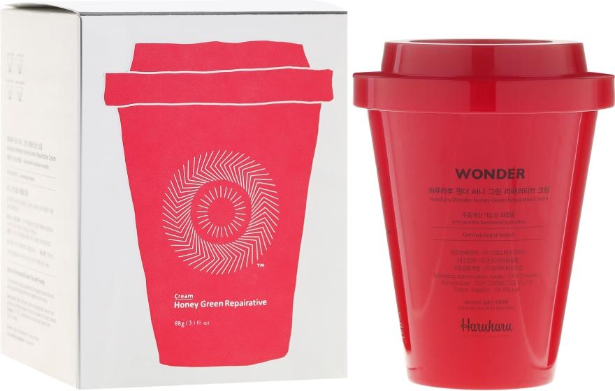 Crema viso rigenerante - Haruharu Wonder Honey Green Repairative Cream